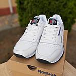 Мужские кроссовки Reebok Classic (белые) 10114, фото 2