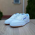 Мужские кроссовки Reebok Workout (белые) 10115, фото 3