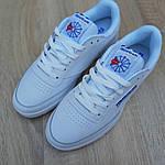 Мужские кроссовки Reebok Workout (белые) 10115, фото 4