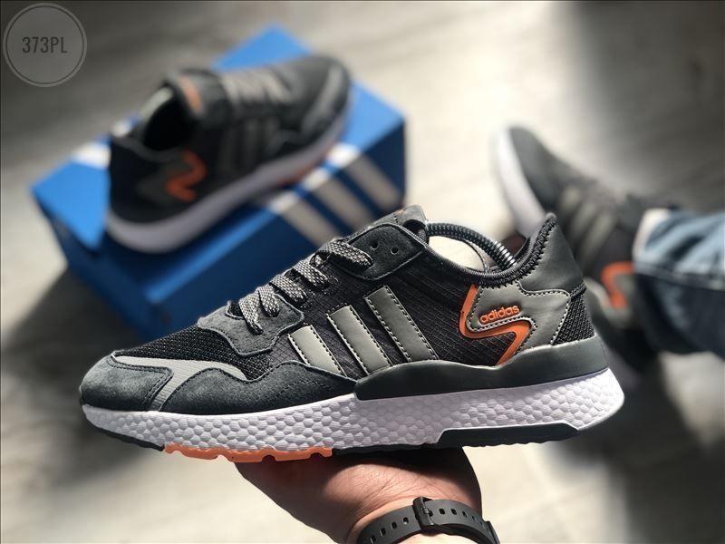 Чоловічі кросівки Adidas Nite Jogger (сірі) 373PL