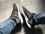 Чоловічі кросівки Adidas Nite Jogger (сірі) 373PL, фото 5