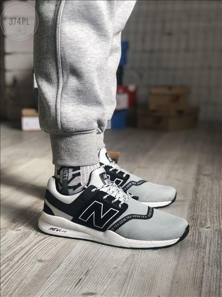 Мужские кроссовки New Balance 247 (серые) 374PL