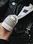 Мужские кроссовки Lacoste (бело-серые с синим) 378PL, фото 4