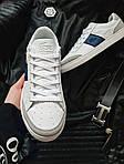 Мужские кроссовки Lacoste (бело-серые с синим) 378PL, фото 5