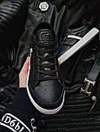 Чоловічі кросівки Lacoste (чорно-білі) 379PL, фото 5