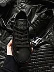 Мужские кроссовки Lacoste (черные) 377PL, фото 3