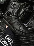 Мужские кроссовки Lacoste (черные) 377PL, фото 4