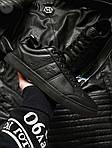 Мужские кроссовки Lacoste (черные) 377PL, фото 6