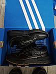 Мужские кроссовки Adidas ZX 500 RM (черные) 382PL, фото 4