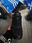 Мужские кроссовки Adidas ZX 500 RM (черные) 382PL, фото 6