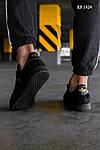 Мужские кроссовки Adidas Gazelle (Черные), фото 5