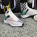 Чоловічі кросівки Nike EXP-X14 (біло-зелені) KS 1426, фото 2