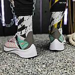 Чоловічі кросівки Nike EXP-X14 (біло-зелені) KS 1426, фото 4