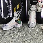 Чоловічі кросівки Nike EXP-X14 (біло-зелені) KS 1426, фото 5