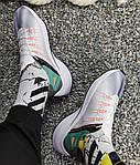 Чоловічі кросівки Nike EXP-X14 (біло-зелені) KS 1426, фото 6