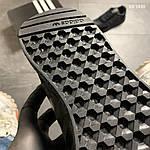 Чоловічі кросівки Adidas Iniki (чорно/білі) KS 1430, фото 4