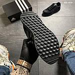 Чоловічі кросівки Adidas Iniki (чорно/білі) KS 1430, фото 7