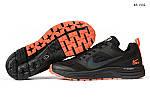 Мужские кроссовки Nike Pegasus 31 (черные) KS 1432, фото 5