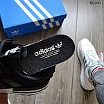 Чоловічі кросівки Adidas ZX 500 RM (чорно-білі) KS 1433, фото 2