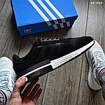 Чоловічі кросівки Adidas ZX 500 RM (чорно-білі) KS 1433, фото 4