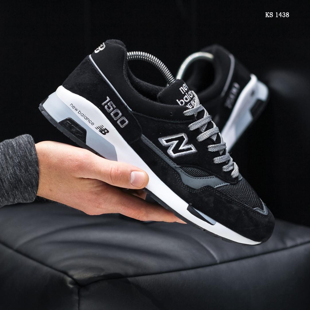 Мужские кроссовки New Balance 1500 (черные) KS 1438