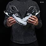 Чоловічі кросівки New Balance 1500 (чорно-сірі) KS 1440, фото 3