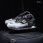 Чоловічі кросівки New Balance 1500 (чорно-сірі) KS 1440, фото 4