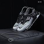 Чоловічі кросівки New Balance 1500 (чорно-сірі) KS 1440, фото 5