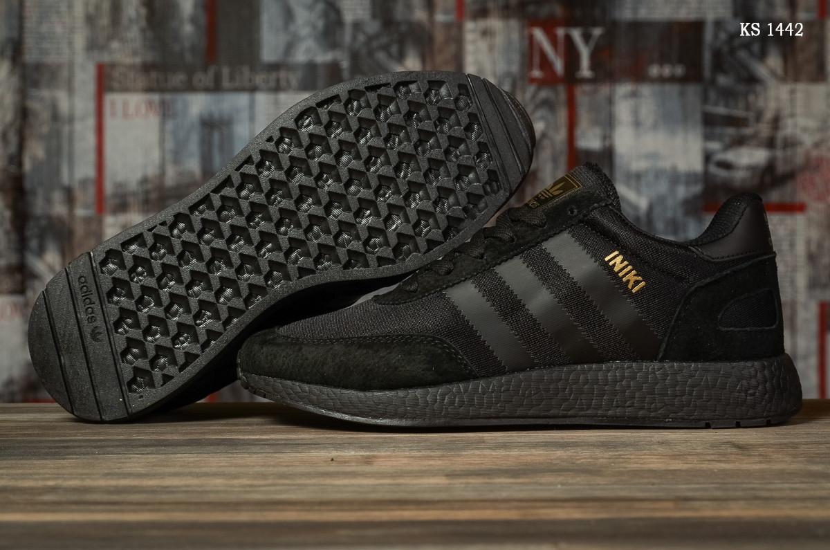 Чоловічі кросівки Adidas Iniki (чорні) KS 1442