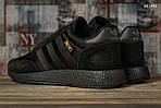 Чоловічі кросівки Adidas Iniki (чорні) KS 1442, фото 7