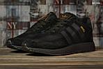Чоловічі кросівки Adidas Iniki (чорні) KS 1442, фото 8