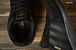 Чоловічі кросівки Adidas Iniki (чорні) KS 1442, фото 9
