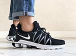 Мужские кроссовки Nike Shox Gravity (черно-белые) 9297, фото 2