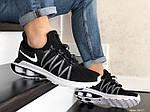 Мужские кроссовки Nike Shox Gravity (черно-белые) 9297, фото 3