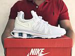 Мужские кроссовки Nike Shox Gravity (белые) 9301, фото 2