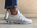 Мужские кроссовки Nike Shox Gravity (белые) 9301, фото 3