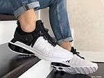 Мужские кроссовки Nike Shox Gravity (черно-белые) 9302, фото 4