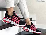 Женские кроссовки Nike Shox Gravity (черно-розовые) 9303, фото 4