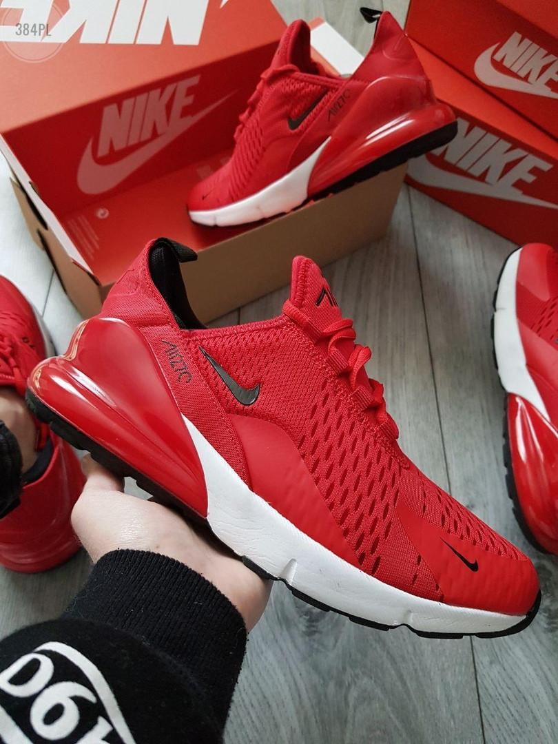 Чоловічі кросівки Nike Air Max 270 (червоні) 384PL