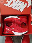 Чоловічі кросівки Nike Air Max 270 (червоні) 384PL, фото 3