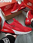 Чоловічі кросівки Nike Air Max 270 (червоні) 384PL, фото 5