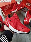 Чоловічі кросівки Nike Air Max 270 (червоні) 384PL, фото 6