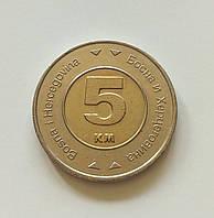5 марок Босния и Герцеговина 2005 г.