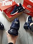 Мужские кроссовки Nike Air Max 270 (сине-белые) 389PL, фото 2