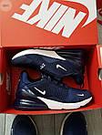 Мужские кроссовки Nike Air Max 270 (сине-белые) 389PL, фото 7
