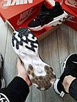 Мужские кроссовки Nike React Presto (черно-белые) 390PL, фото 3