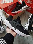 Мужские кроссовки Nike React Presto (черно-белые) 390PL, фото 5