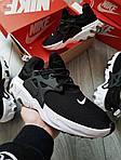 Мужские кроссовки Nike React Presto (черно-белые) 390PL, фото 7