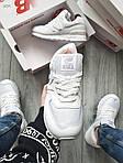 Чоловічі кросівки New Balance 574 (білі) 393PL, фото 4