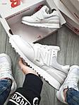 Чоловічі кросівки New Balance 574 (білі) 393PL, фото 6